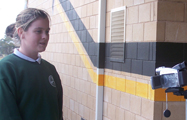 Wycheproof student filmed for CGTV