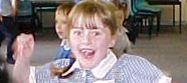 Lily gets excited for the Melbourne 2006 Commonwealth Games