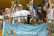 Justin Madden and M2006 flag